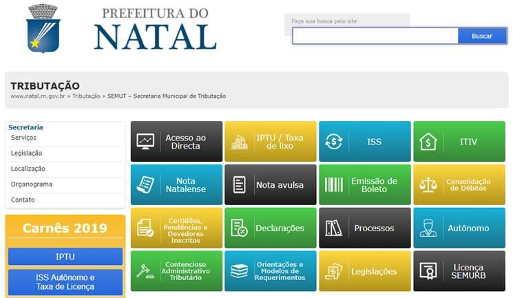 IPTU natal RN