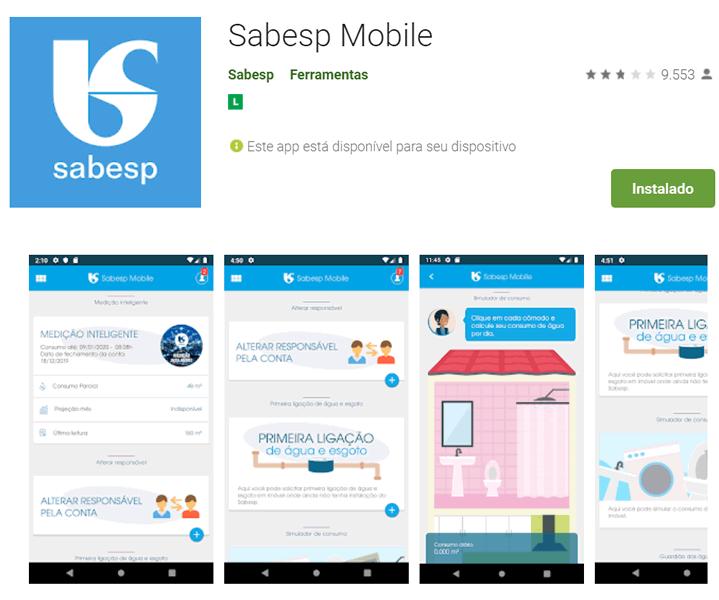 app sabesp